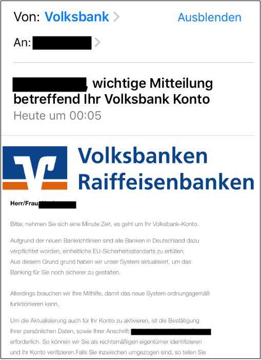 faebddc4c1 VB Sulmtal - Aktuelle Phishing Meldungen